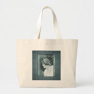 Vintage - After Your Gone Large Tote Bag