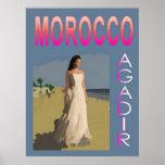 Vintage Agadir Poster