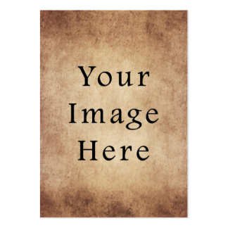Vintage Aged Light Dark Brown Parchment Paper Business Card Templates