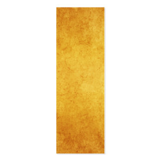 Vintage Aged Parchment Paper Template Blank Double-Sided Mini Business Cards (Pack Of 20)