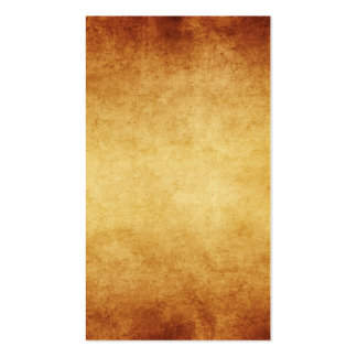 Vintage Aged Parchment Paper Template Blank Pack Of Standard Business Cards
