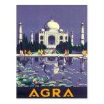 Vintage Agra Taj Mahal India