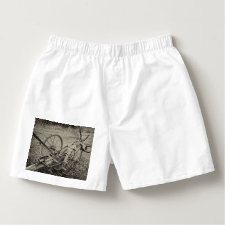 Vintage agricultural machine boxers