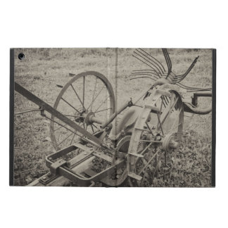 Vintage agricultural machine iPad air case