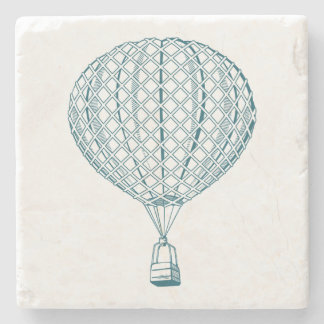 Vintage Air Balloon Stone Coaster