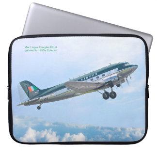 Vintage Aircraft for Neoprene Laptop Sleeve