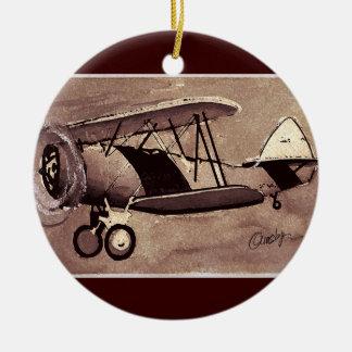 Vintage Aircraft Ornament