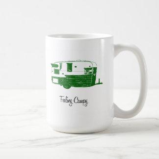 Vintage Airflyte Camping Trailer Mug