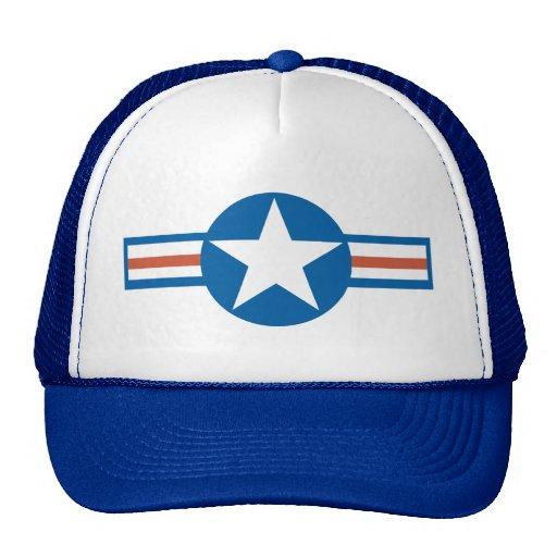 Vintage Airforce Logo_2 Mesh Hats
