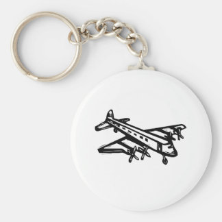 Vintage Airliner Keychains