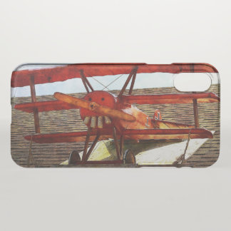 Vintage Airplane by Shirley Taylor iPhone X Case