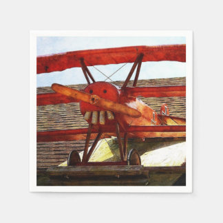 Vintage Airplane by Shirley Taylor Paper Serviettes