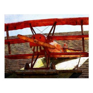 Vintage Airplane Postcard