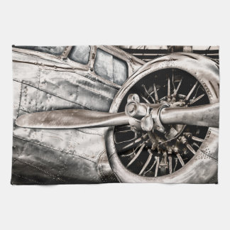 Vintage Airplane Tea Towel