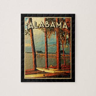 Vintage Alabama Jigsaw Puzzle