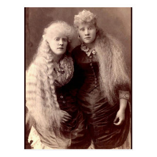 Vintage Albino Beauties Postcard