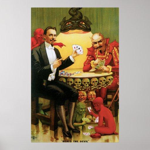"Vintage Alexander Fredrik ""Beats the Devil"" Posters"