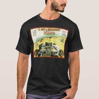 Vintage Algerian wine label T-Shirt