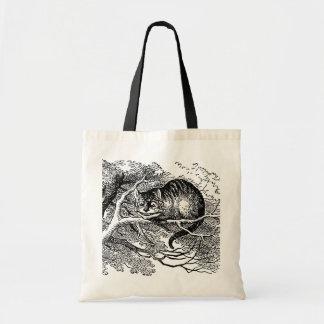 Vintage Alice in Wonderland, Cheshire Cat Bags