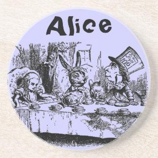 Vintage Alice in Wonderland Drink Coasters