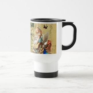 Vintage Alice in Wonderland collage Mug