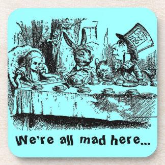 Vintage Alice in Wonderland Coaster