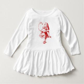 Vintage Alice in Wonderland Dress