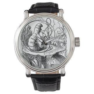 Vintage Alice in Wonderland Hookah Caterpillar Watch
