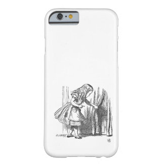 Vintage Alice in Wonderland looking for the door Barely There iPhone 6 Case