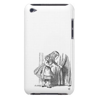 Vintage Alice in Wonderland looking for the door iPod Touch Covers