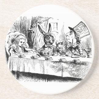 Vintage Alice in Wonderland Mad Tea Party Coaster