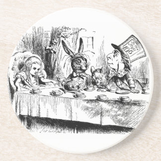 Vintage Alice in Wonderland Mad Tea Party Coasters
