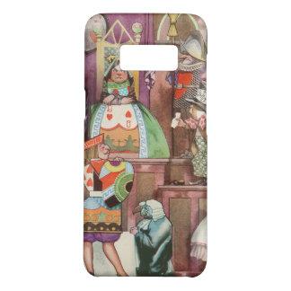 Vintage Alice in Wonderland, Queen of Hearts Case-Mate Samsung Galaxy S8 Case