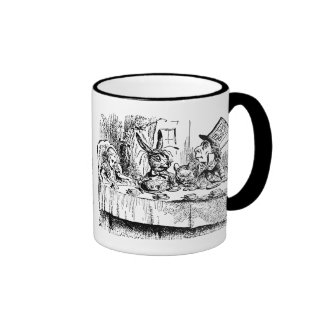 Vintage Alice in Wonderland, Tea Party Scene Mugs