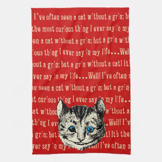Vintage Alice in Wonderland Tea Towel