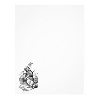Vintage Alice in Wonderland the White Rabbit Watch 21.5 Cm X 28 Cm Flyer