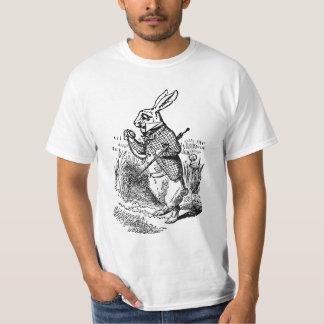 Vintage Alice in Wonderland the White Rabbit Watch T-Shirt