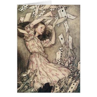 Vintage Alice's Adventures in Wonderland, Rackham Greeting Cards