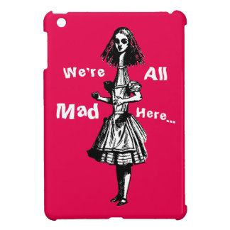 Vintage Alice Stretched in Wonderland iPad Mini Cases