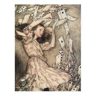 Vintage Alices Adventures in Wonderland by Rackham Postcard