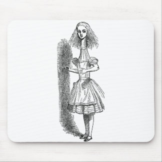 Vintage Alice's Adventures in Wonderland Mouse Pad