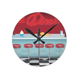 Vintage All American Diner Clocks