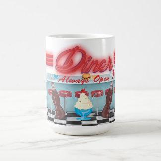 Vintage All American Diner Coffee Mug