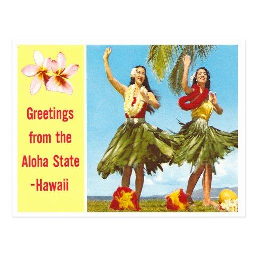 Vintage Aloha Postcards