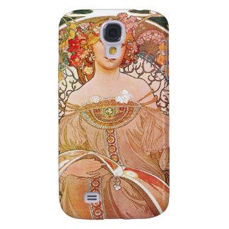 Vintage Alphonse Maria Mucha Art Samsung Galaxy S4 Cover
