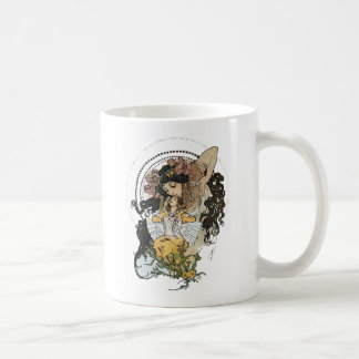 Vintage Alphonse Mucha Mug