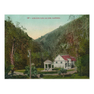 Vintage Alum Rock Park California Postcard