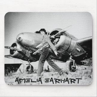 Vintage Amelia Earhart  Photo Mouse Pad