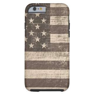 Vintage American Flag 5 Tough iPhone 6 Case
