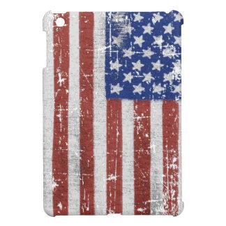 Vintage American Flag Art Case For The iPad Mini